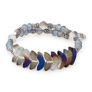 Alex and Ani Deity Wrap River Beaded Bracelet